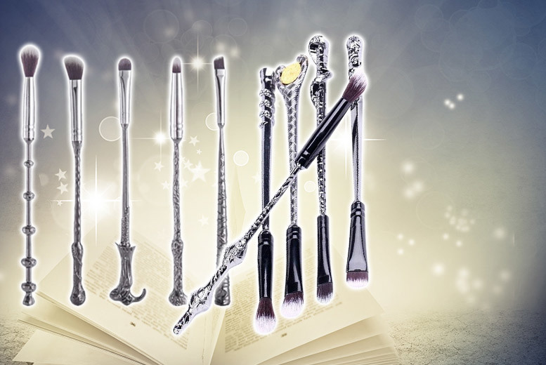£9.99 instead of £47 (from Forever Cosmetics) for a 10piece Harry Potterinspired wand makeup set  save 81