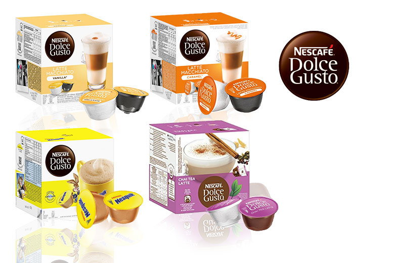 £12 instead of £39.99 (from Euro Coffee Pods) for 48 assorted Nescafe pods  save 70
