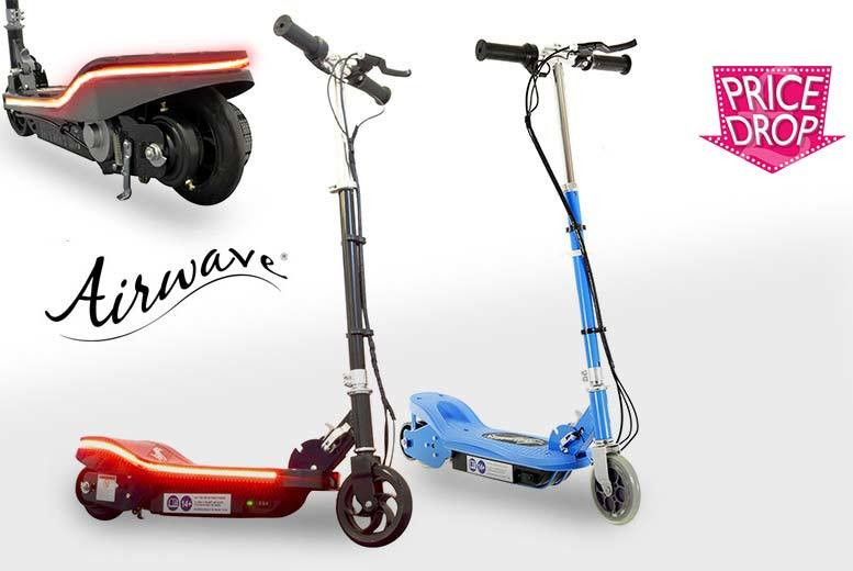 £54 instead of £152 (from Pro Rider Leisure) for an Airwave® 120w electric scooter or £64 to include lights  save up to 64