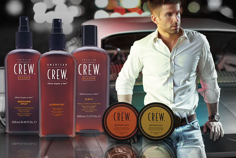 From £8 for an American Crew hair product from Deals Direct  choose from five highquality products and save up to 27