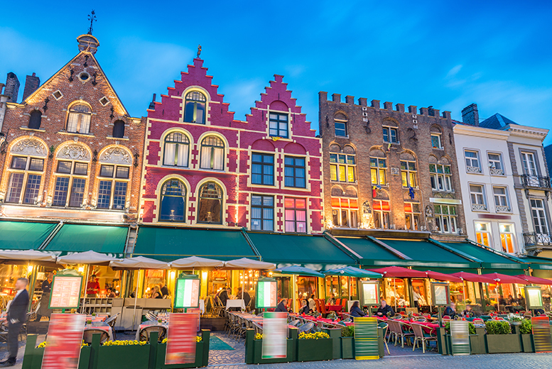 From £89pp (from Superbreak) for a three-night mini cruise from Hull to Bruges including one night in your choice Bruges hotel, from £119pp for four nights