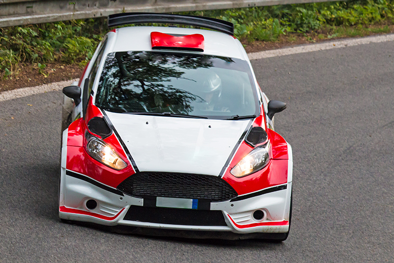 £14 for a night rally passenger experience for 1, £89 for an 8-lap rally driving experience for 1, or £149 for 2 at Sportech Motorsport - save up to 52%