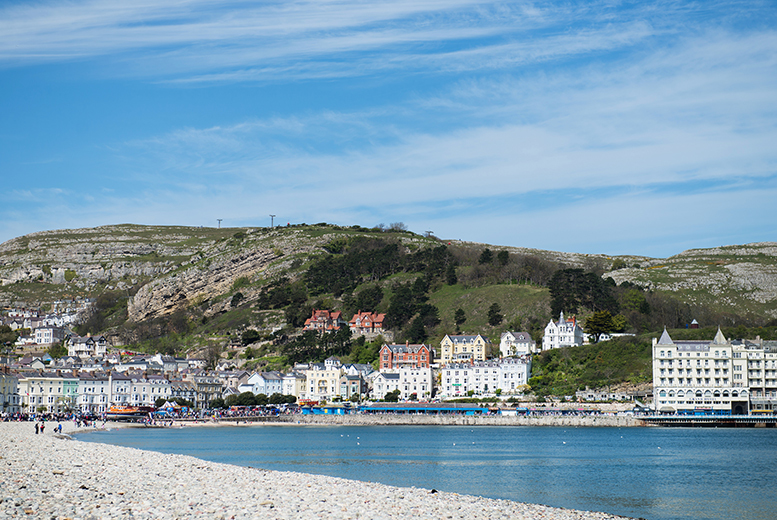 £89 (at Ambassador Hotel, Llandudno) for a two-night stay for two including a Welsh afternoon tea, Buck's Fizz and breakfast