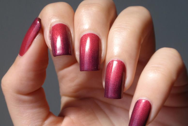 £10 instead of £25 for a Shellac one-colour or colour changing manicure, or £18 for a manicure and pedicure at Beauty & Cut, Walthamstow - save up to 60%
