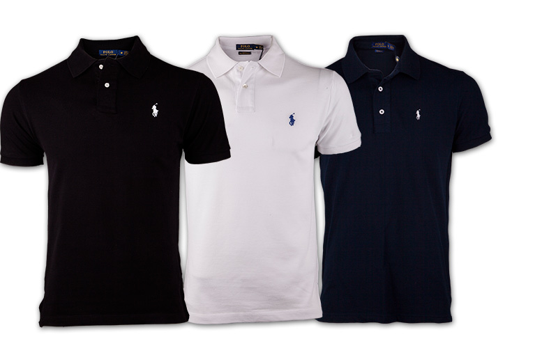 £25 instead of £76.01 for a classic men's Ralph Lauren polo shirt - look your best and save 67%