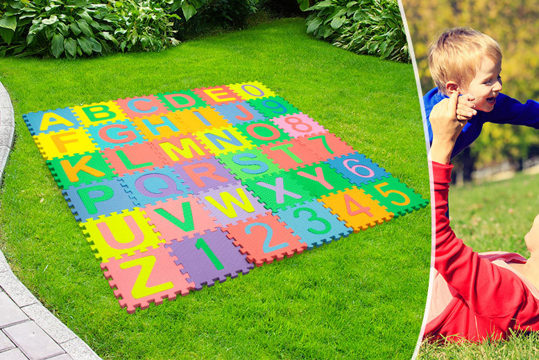 £6.99 instead of £27.25 (from Planet of Accessories) for a 36-piece soft foam puzzle play mat - save 74%