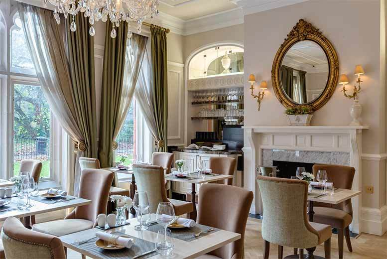 £39 for a weekend afternoon tea for two with a glass of Champagne each, £49 for a weekday afternoon tea with 'unlimited' Champagne - save up to 44%