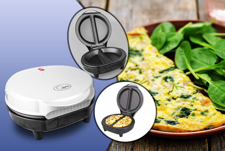 Image of £12.99 instead of £39.99 (from Hungry Bazaar) for an omelette maker - save 68%