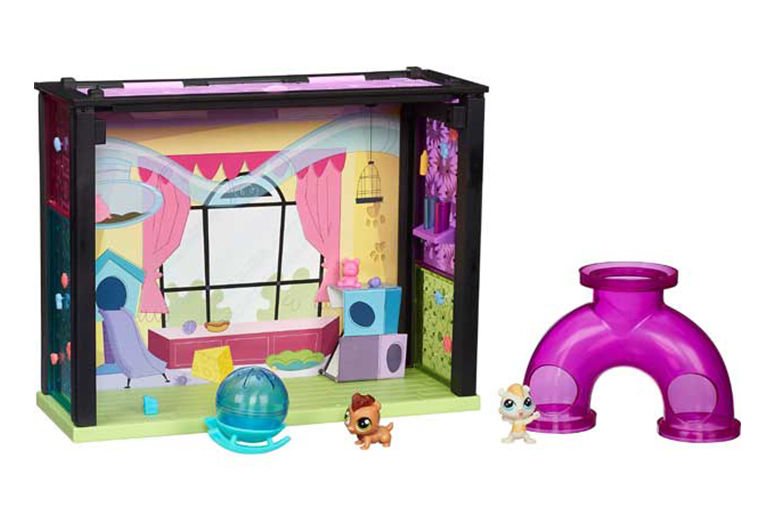 £7.99 instead of £16.99 for a littlest pet shop playset from Ckent Ltd  save 53
