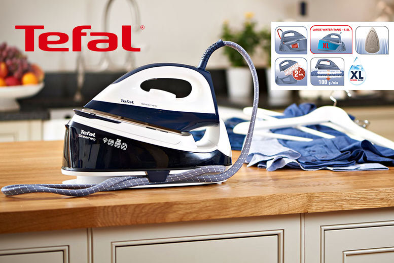 £59 instead of £124 (from Elite Housewares) for a Tefal SV5021 2200W steam iron  save 52