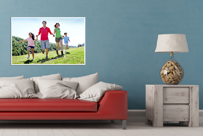 £12 instead of £54.99 (from Your Perfect Canvas) for a personalised A1 canvas - save 78%
