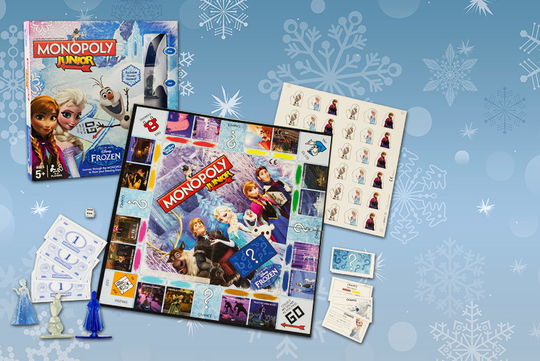 £10 instead of £21 (from Linen Ideas) for the Frozen Junior Monopoly board game - save 52%