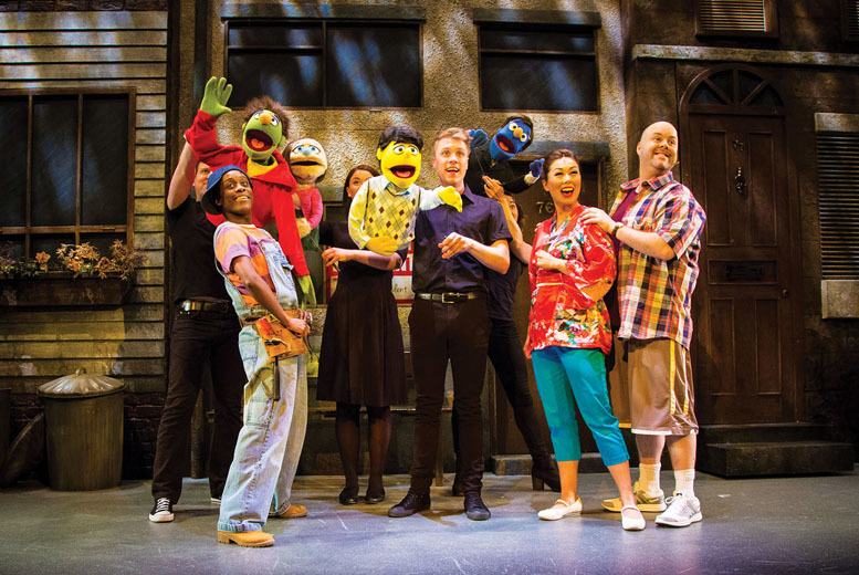 £15 instead of £29.40 for a band A ticket to see the multi-award-winning show Avenue Q - choose from three locations and save 49%