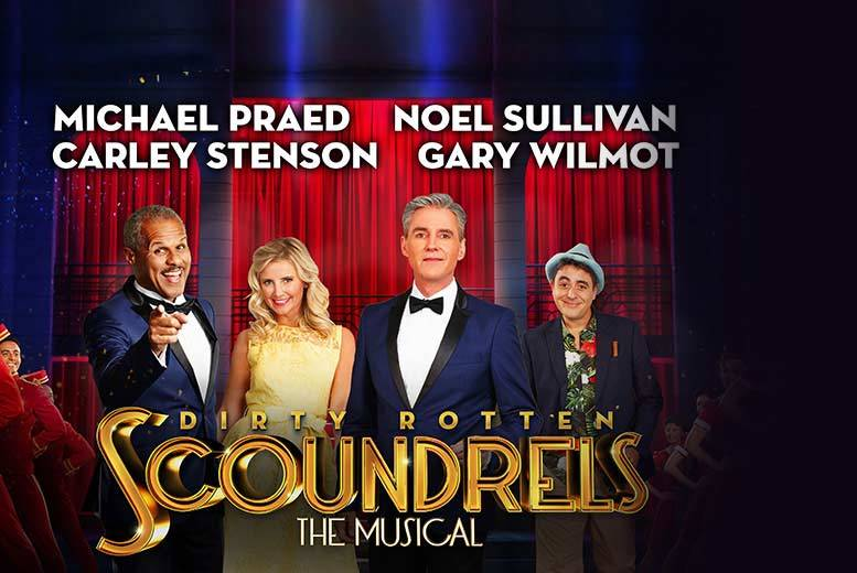 £15 for a Band B ticket to see Dirty Rotten Scoundrels at the Edinburgh Playhouse or £20 for Band A ticket with ATG Tickets - save up to 60%