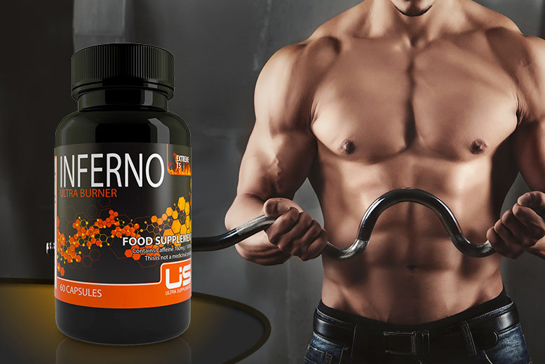 £7 instead of £34 (from Ultra Supplements) for a one-month* supply of Extreme T5 Inferno 'fat burner' - save 79% + DELIVERY INCLUDED!