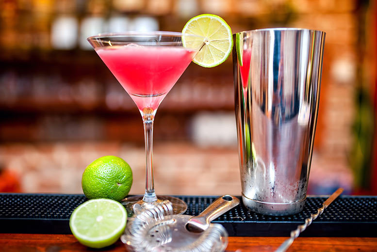 £9 for four cocktails between two people, or £17 for eight between four, at Elysium, Wellington Street, Leeds - save up to 68%