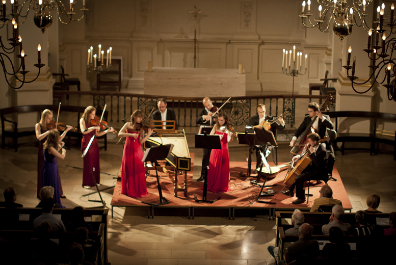 From £14 for a ticket to an evening of concertos by Vivaldi and Bach by candlelight plus CD and program by the London Concertante at Leicester Cathedral - save up to 44%