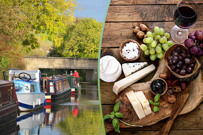 £29 instead of £65 for a 90-minute boat cruise for two people including a cheeseboard and half a carafe of wine with Lancashire Canal Cruises - save 54%