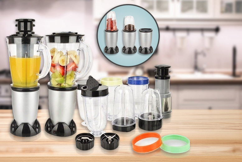Image of £19.99 instead of £69.99 (from Zenith) for a 21-piece multi-purpose blender set - save 71%