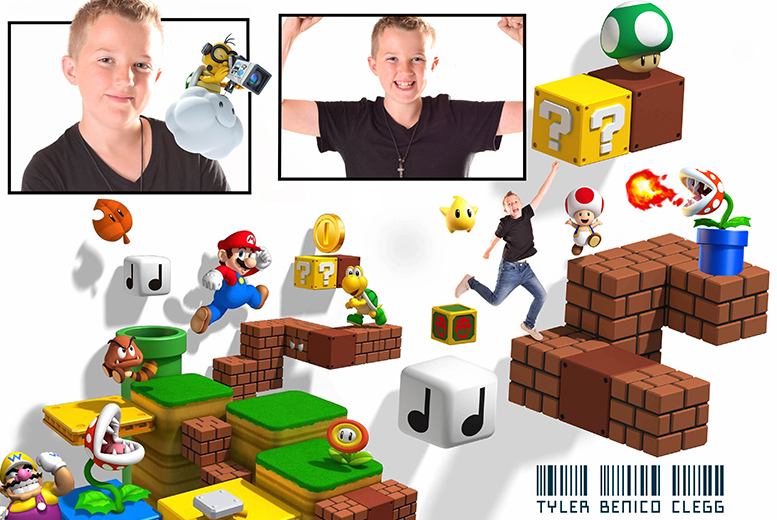 £8 instead of £150 for an up two-hour video game-inspired photoshoot including two prints and a £100 voucher towards CD collections at MCR Studios, Manchester - save 95%