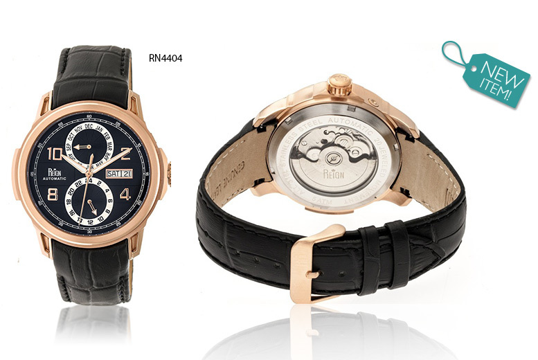 £159 instead of £1080 (from Reign Watches) for a luxury automatic reign 'Cascade' watch  choose from six designs and save 85  DELIVERY IS INCLUDED
