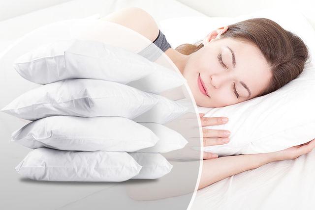bounce-back pillows