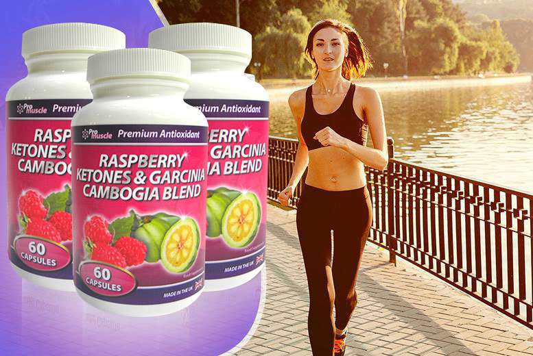 £17 instead of £119.97 for a three-month* supply of raspberry ketone and garcinia cambogia capsules - save 86% + DELIVERY IS INCLUDED!
