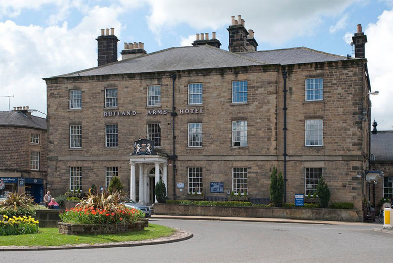 From £119 instead of up to £310 (from Rutland Arms Hotel, Bakewell) for a 2-night stay for 2 including breakfast and 3-course dinner - save up to 62%
