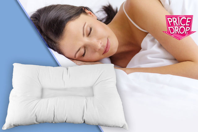 orthopaedic anti snore pillow