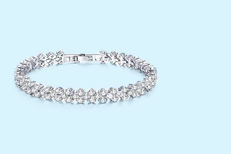 £19 instead of £99 for a multi link crystal bracelet from Your Ideal Gift  save 81