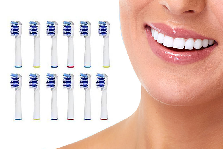 £7 instead of £22 (from Ugoagogo) for 12 Oral Bcompatible toothbrush heads  save 68