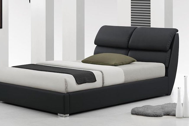 Libretto Leather Bed