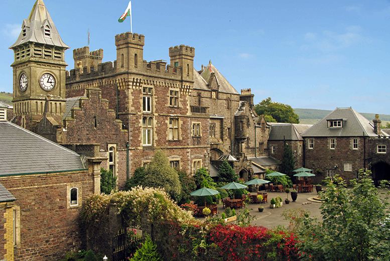 £149 (at Craig-Y-Nos Castle) for a two-night castle stay for two with breakfast, a one-course meal and a glass of wine each, £189 for a three-night stay - save up to 21%