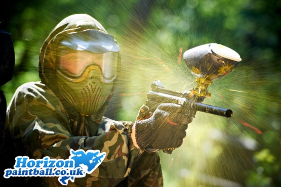 £3 instead of £17.98 for a day of paintballing with equipment hire and 100 paintballs at Horizon Paintball, in a range of locations – save 83%
