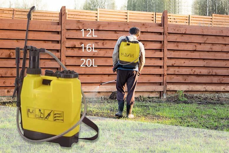 12L, 16L or 20L Backpack Pressure Sprayer