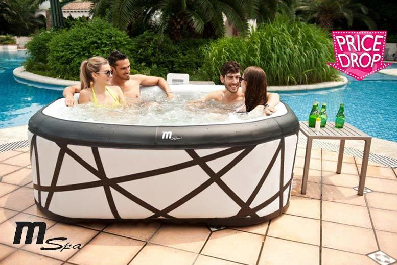 Six Seater Soho M-Spa Inflatable Hot Tub