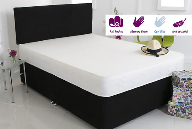 Extra-Thick Comfort Memory Foam Mattress