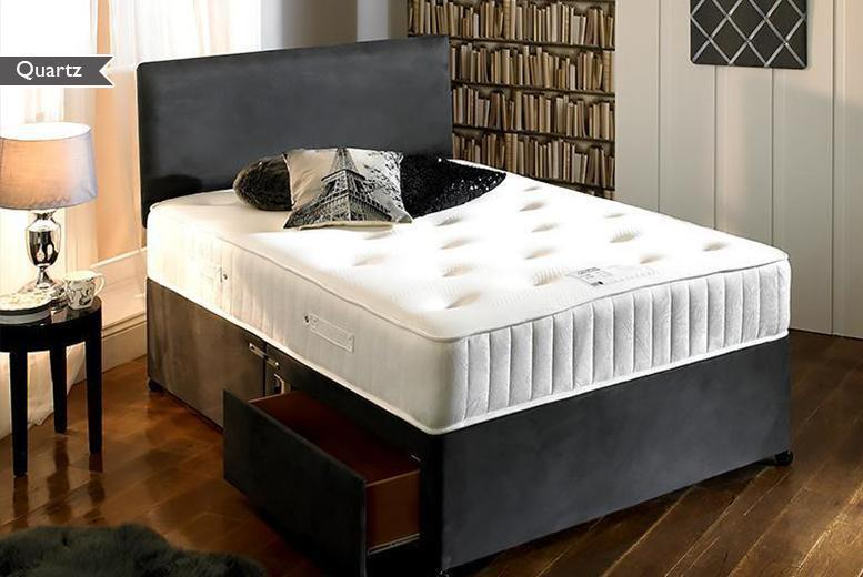 £169 for a single memory foam pocket sprung mattress, £199 for a small or regular double, £219 for king or £289 for super king - save up to 79%