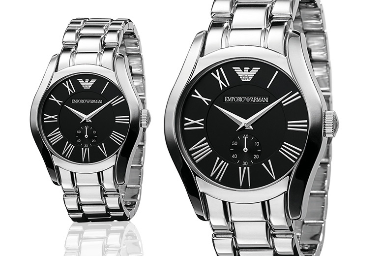 Stainless Steel Emporio Armani Watch