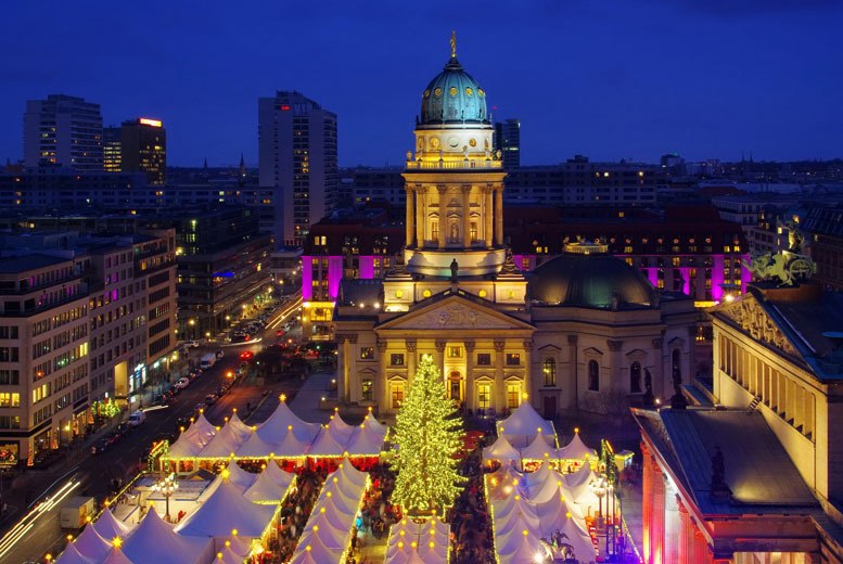 From £89pp instead of £173.74pp (from iFly) for a 2-night 4* German Christmas market stay including flights and a cruise, from £129pp for 3 nights - save up to 49%