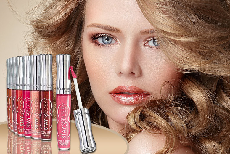 £6.99 instead of £39.99 (from Quick Style) for a set of five Rimmel Stay Glossy lip glosses - get smouldering this season and save 83%