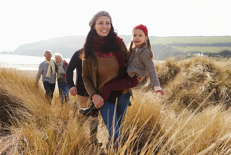 From £79 (from Park Resorts) for a three-night weekend or a four-night midweek caravan break for up to six at a choice of 12 parks - save up to 37%
