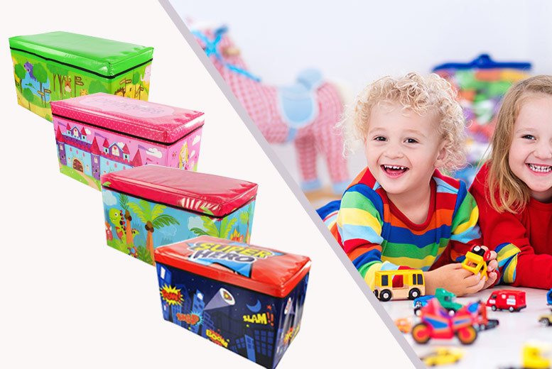 The Best Deal Guide - Kids Large Storage Toy Box - 4 Designs!