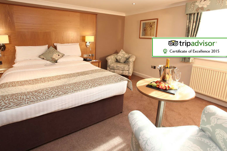 £99 (from Best Western Premier Yew Lodge Hotel) for a 1nt stay including an afternoon tea, Prosecco, spa access, breakfast & late checkout, £169 for 2nts - save up to 36%