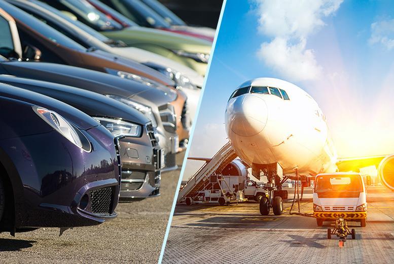 £1 for 24% off airport parking at a choice of six UK airports with Purple Parking!