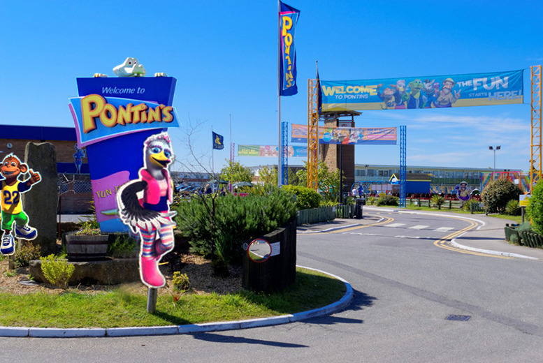 From £59 (at Pontins) for a two, three or four-night self-catered half term 'spooktacular' break for up to four people - choose from four holiday parks!