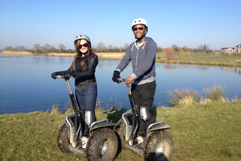 £29 instead of up to £76 for a weekday Segway experience for two, £39 for a weekend experience at Experience The Country, Milton Keynes - save up to 62%