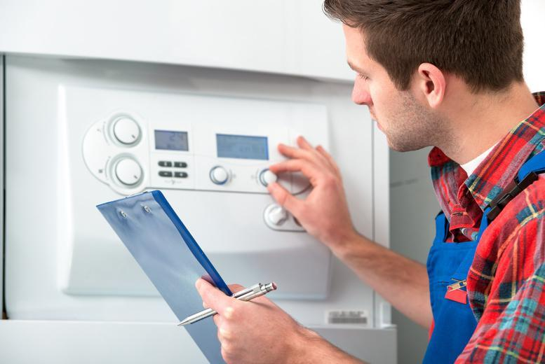 £29 for a full boiler service with carbon monoxide check and safety certificate with HMS Plumbing & Property Services, Stoke-on-Trent - save 76%