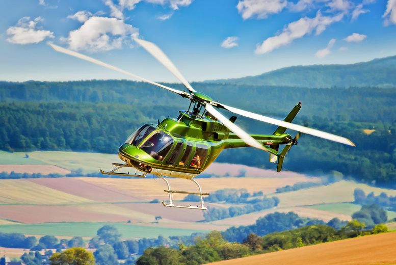From £89 for a 20 helicopter tour of Leeds for up to three people, from £99 for 30 minutes with Hields Aviation, Leeds