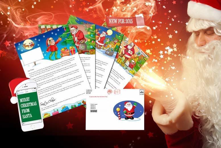 Personalised Santa Letter and Text - National Deal